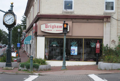 Brighams store as seen from the street